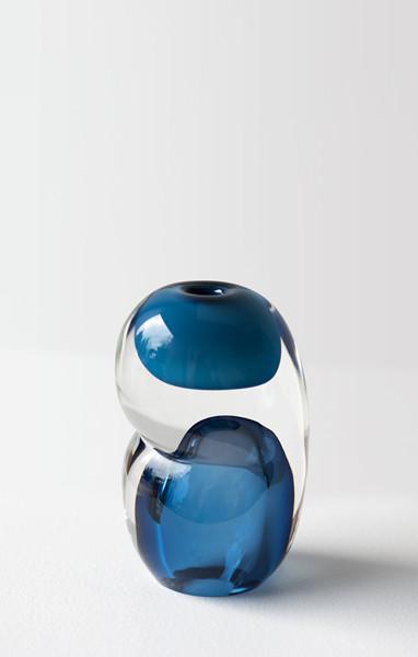 blue palette 6″H x 4″Dia (16x10cm)