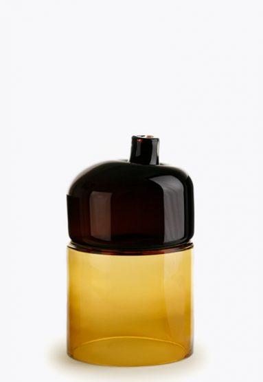brown/amber 17″H x 9″Dia (43x23cm)
