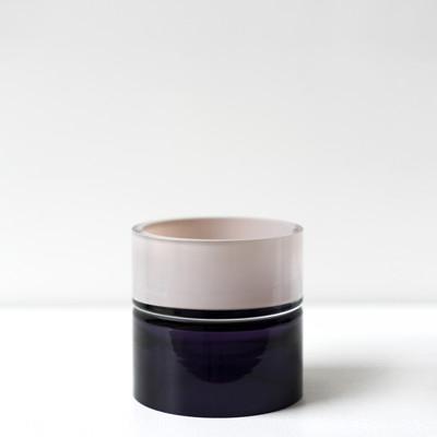 purple palette 6.5″H x 6.5″Dia (17x17cm)