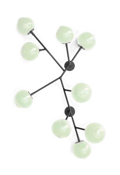 linden green 34″H x 24″W x 5″D (86x61x13cm)
