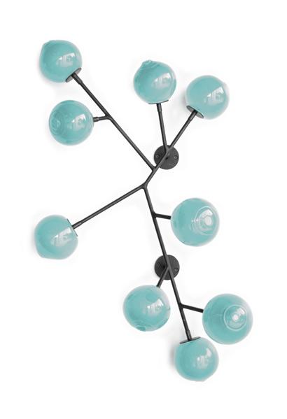 new blue 34″H x 24″W x 5″D (86x61x13cm)