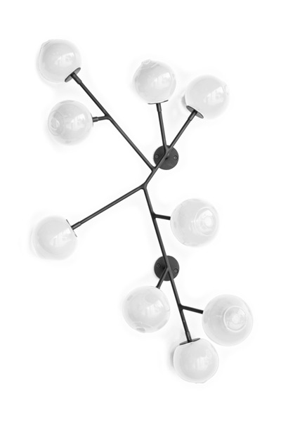 white 34″H x 24″W x 5″D (86x61x13cm)