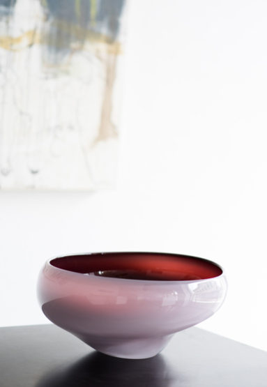 "high bowl/pink 10""Dia x 5.5""H (25x14cm)"
