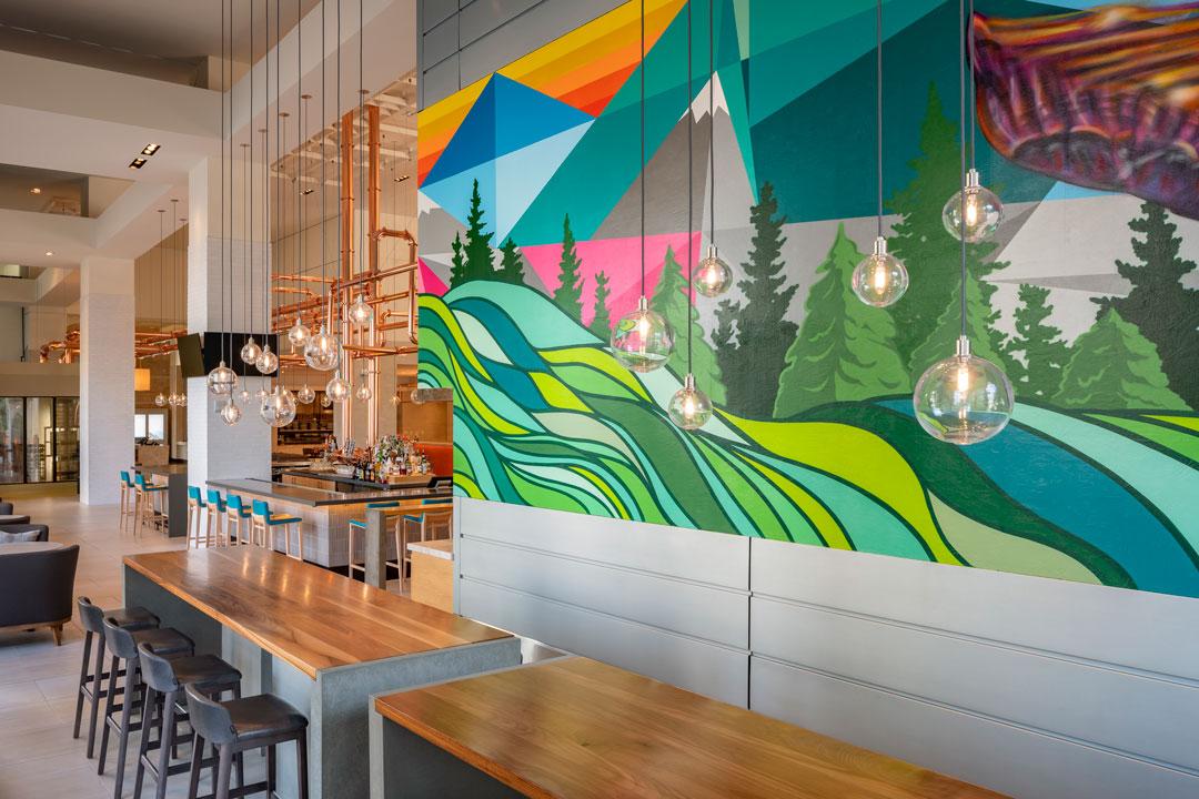FORMER SAINT CRAFT KITCHEN AND TAPS / HYATT REGENCY Denver Interior Design: EDG
