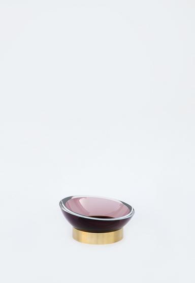 medium/plum 10″Dia x 5″H (25x12cm)